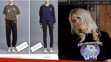 Wanda Nara se lanzó como empresaria de moda infantil. (Foto: WanCollection.com)