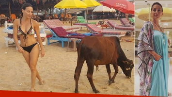Eleonora Wexler en la playa de Goa, India. (Foto: Instagram)