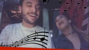 Ángela Torres y Agustín Casanova revolucionar Instagram cantando juntos