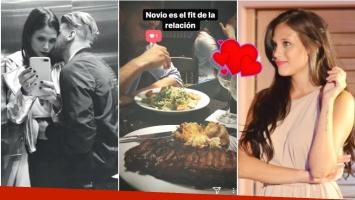 ¡Hay para todos los gustos! La foto de Barbie Vélez y Lucas Rodríguez... ¡con diversos menúes! Novio es el fit de...