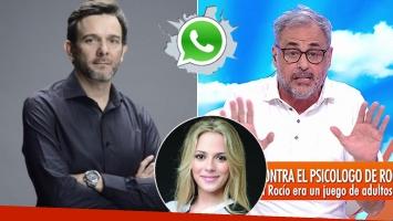 Gervasio Díaz Castelli habló de su audio sexual con Rocío Gancedo.