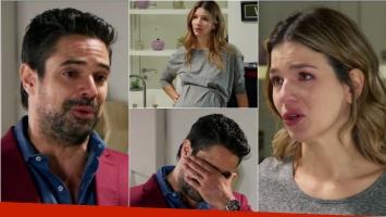 La conmovedora declaración de Lucía a Mariano en Las Estrellas: Estoy embarazada de vos, Mariano