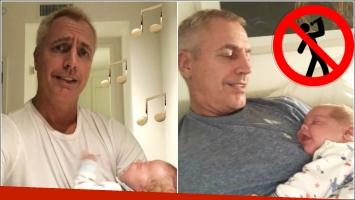 Los fallidos intentos de Marley por hacer dormir a su hijo bebé: Una hora cantándole; me parece que Mirko no sabe...