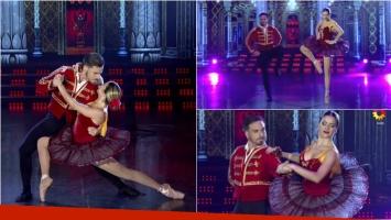 Fede Bal y Laurita Fernández abrieron la ronda de clásico en ShowMatch