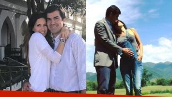 La postal romántica y maternal de Isabel Macedo con Juan Manuel Urtubey acariciando su pancita