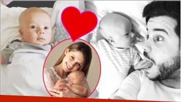 El tierno video de Nicolás Magaldi con su bebé a solas: Acá con el enano aprendiendo a reír, lo más lindo de la...