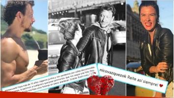 El intercambio de mensajes de románticos entre Nico Vázquez y Gime Accardi en sus vacaciones por Nueva Zelanda