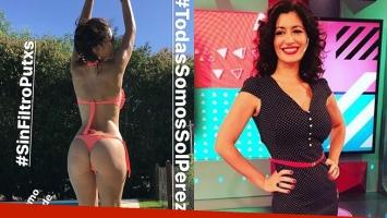 Carla Conte se animó a una foto súper sexy en bikini y sin Photoshop: Todas somos Sol Pérez