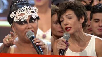Gladys La Bomba Tucumana se peleó con su coach en ShowMatch: Sos una mentirosa