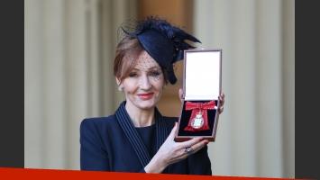 J.K. Rowling ingresó en la Orden de los Compañeros de Honor británica. (Foto: DPA)