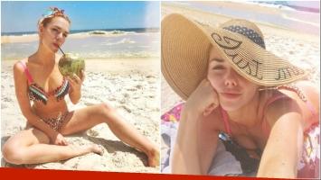 Julieta Nair Calvo, una Estrella suelta en Río de Janeiro: sus fotos súper sexies en la playa