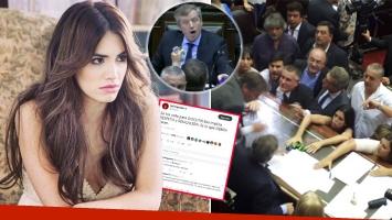 Lali Espósito se indignó con los incidentes en el Congreso y se cruzó con un seguidor en Twitter. Foto: Instagram