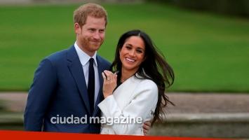 El Príncipe Harry y Meghan Markle se casarán el 19 de mayo de 2018. (Foto: AFP)