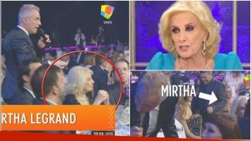 El enojo de Mirtha Legrand tras sentirse ninguneada en los Premios Tato 2017