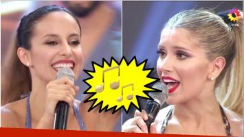 Laurita Fernández y Lourdes Sánchez cantaron a capela en las semifinales de Bailando 2017