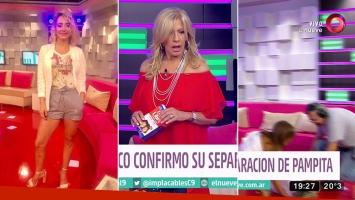 El desmayo en Andrea Ghidone en Implacables