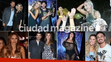 El festejo de Marcelo Tinelli tras el final del Bailando (Foto: Movilpress)
