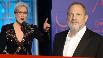 Meryl Streep se defiende: Harvey Weinstein se aseguró que yo no supiera de los abusos