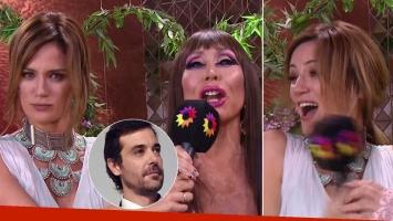 Moria Casán sorprendió en vivo a Paula Chaves con una inesperada predicción