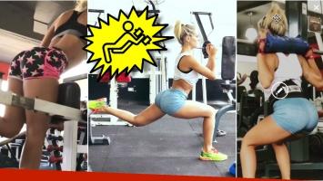 Los secretos de Sol Pérez para tener su famosa cola: mirá los videos con su exigente rutina de ejercicios
