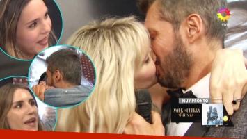 El romántico beso de Tinelli a Guillermina Váldes y un tierno saludo a su familia en la final de Bailando 2017:...