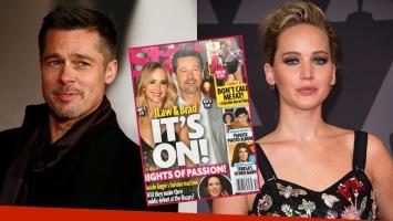 Brad Pitt y Jennifer Lawrence, ¿protagonistas del romance del momento?