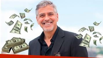 George Clooney les regaló un millón de dólares a sus 14 mejores amigos