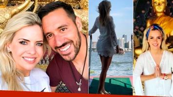 El álbum de viaje de Alejandra Maglietti y Jonás Gutiérrez en Tailandia: Conociendo hasta el último rincón de...