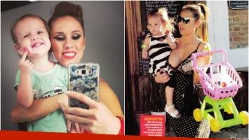 El look sensual de Barby Silenzi para pasear con su hija Elena (Fotos: Instagram y revista Paparazzi)
