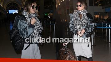 El look anti glam de Heidi Klum al llegar al aeropuerto de Los Angeles