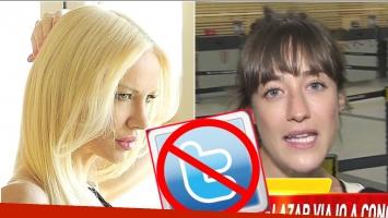 Camila Salazar confesó que tiene bloqueada a su hermana Luciana (Fotos: Web y Captura)