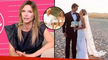La emoción de Zámolo al contar el motivo por el que se casó en Uruguay.