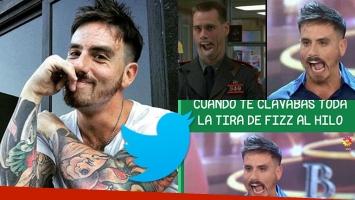 La reacción de Fede Bal al ver en Twitter los memes de su cara en la final del Bailando