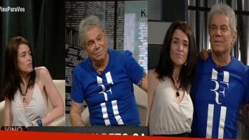 La primera entrevista de Beto Casella y Carolina Wyler