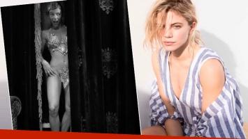 El destape sexy de Justina Bustos