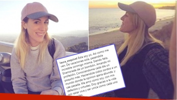 Las reflexivas y solitarias vacaciones de Laurita Esquivel en Malibú (Fotos: Instagram)
