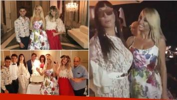 Vicky Xipolitakis festejó sus 32 años con una mega fiesta (Fotos: Instagram)