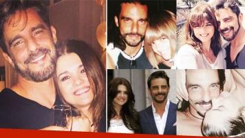 Fabián Mazzei celebraron una década de amor en pareja. (Foto: Instagram)