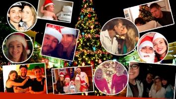 Así celebraron la Navidad los famosos