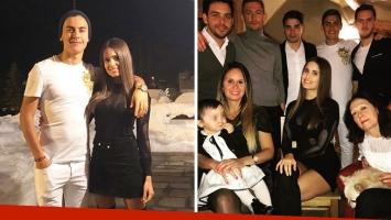 Paulo Dybala y Antonella Cavalieri se reconciliaron y pasaron Navidad en familia. Foto: Instagram.
