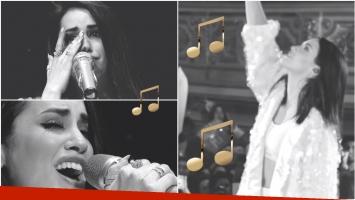 Lali Espósto presentó Tu sonrisa, su nueva canción dedicada a los que ya no están (Fotos: Captura de YouTube)