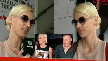 Ingrid Grudke confirmó su separación de Cristóbal López
