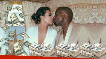 Kim Kardashian recibió 200 mil dólares por Navidad de Kanye West