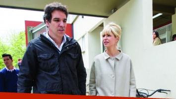 Ignacio Castro Cranwell y Karina Rabolini se separaron tras un año de blanquear la relación. (Foto: Mendoza Post)