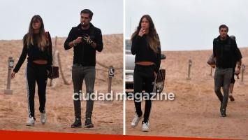 Lucía Celasco y Joaquín Rozas, reconciliados tras cinco meses de impasse. Foto: GM Press Punta del Este.
