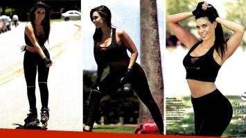 Sabrina Ravelli detalló su rutina diaria de ejercicios. Foto: revista Gente.