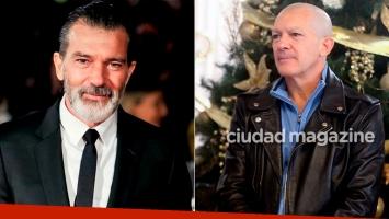 El cambio de look de Antonio Banderas (Fotos: Grosby Group)