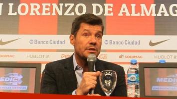 Marcelo Tinelli se aleja de San Lorenzo. (Foto: DYN)