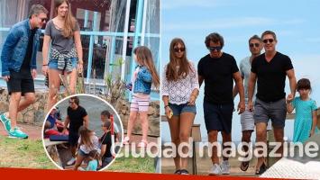 La divertida estadía de Adrián Suar junto a su hija y Gustavo Bermúdez en Punta del Este (Foto: GM Press Punta)