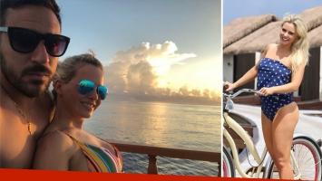 Jonás Gutiérrez y Alejandra Maglietti, de vacaciones en Islas Maldivas. (Foto: Instagram)